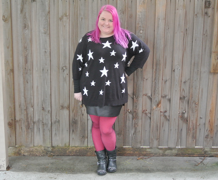 Plus Size Outfit - Day at the Museum