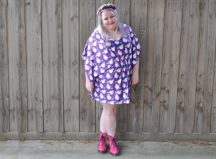 Plus size outfit - Joolz Fat Unicorn