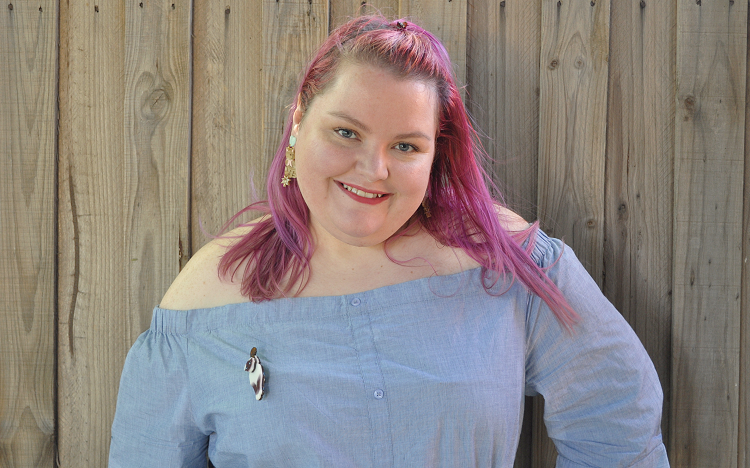 Plus size OOTD - Cats!